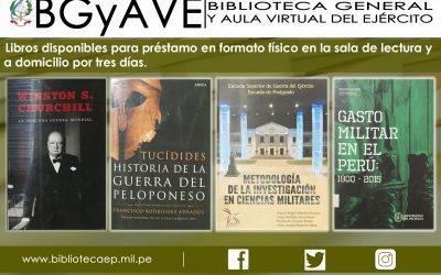 LIBROS ADQUIRIDOS POR LA BGYAVE