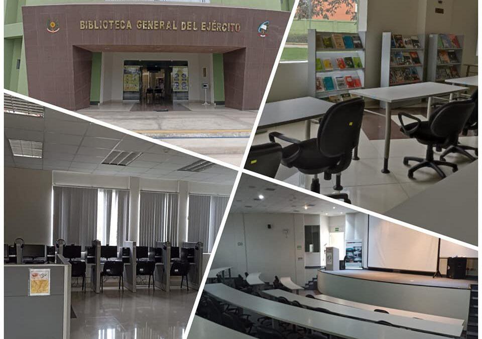 Biblioteca General del Ejército abierto las 24 horas